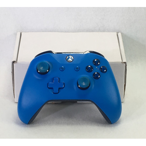 microsoft xbox one wireless blue