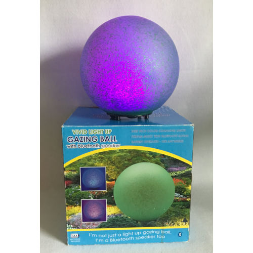 glazing ball bluetooth green