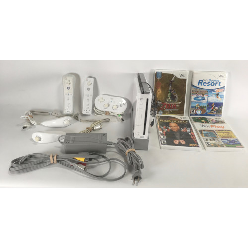 Nintendo Wii Bundle : RVL-001 White