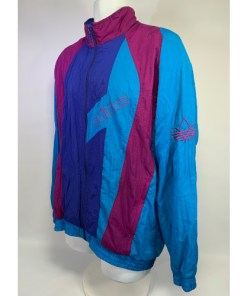 80's Adidas full-zip embroidered track jacket CA00411