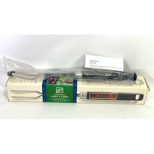 Brookstone Super Bright Chef's Fork digital thermometer