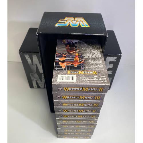 WWF WrestleMania The Legacy (VHS 10 of 14- Box Set)
