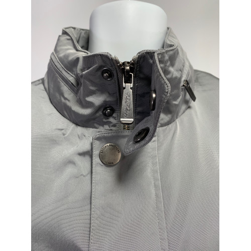 Brooks Brothers Silver Rain Jacket