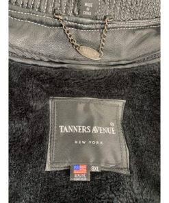 Tanners Avenue America Cities Leather Bomber Jacket 8xl