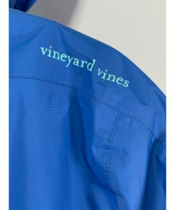 Vineyard Vines Fleece Lined Raincoat Windbreaker Coat Size S