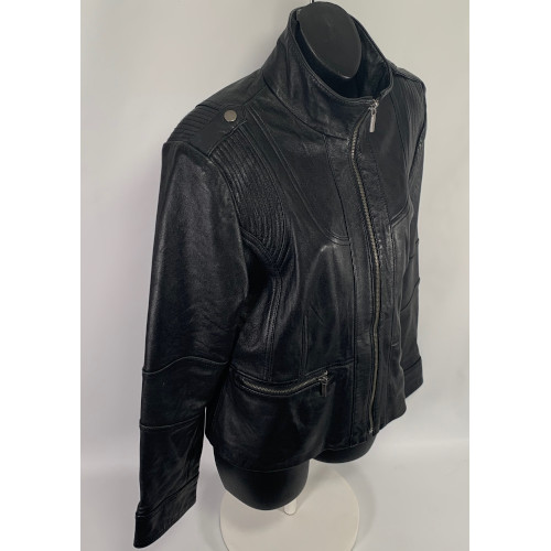 Wilson Leather Women Biker Jacket RN69426