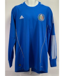 Adidas ClimaCool Mexico Home Goal Keeper Soccer Futbol Jersey