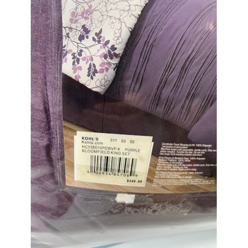 Bloomfield king Comforter Set 400934847069