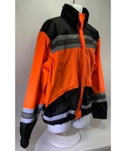 Harley-Davidson Men's Hi-Vis Orange Rain Jacket