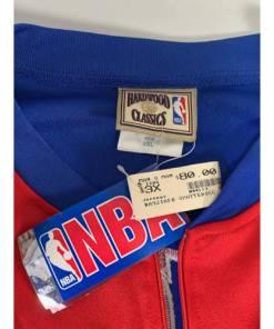 LA Clippers NBA Adidas Red Full Zip Jacket