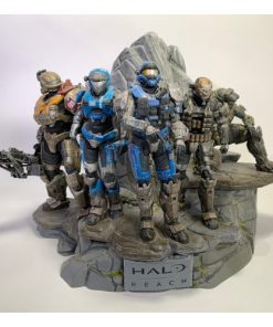 Microsoft Halo Reach Legendary Noble Team Statue