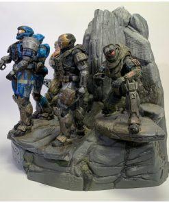 Microsoft Halo Reach Legendary Noble Team Statue