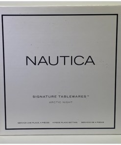 Nautica Arctic Night 4-Piece Dinnerware Set 909-145-00