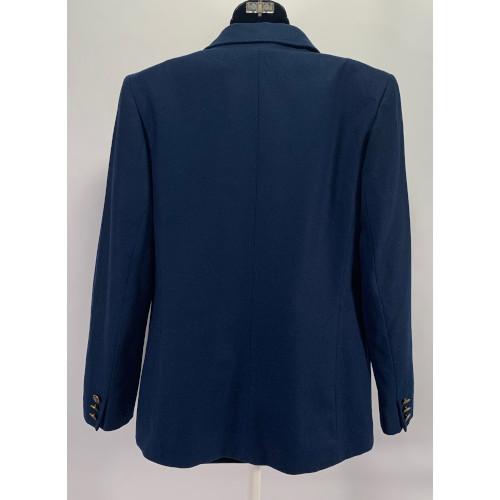 Pendleton Navy Blue Wool Blazer