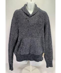 RALPH LAUREN D.S. USRL Mens Shawl Collar Pullover Sweater