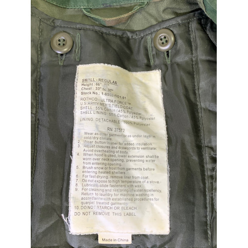 US Army Rothco Ultra Force Field Jacket
