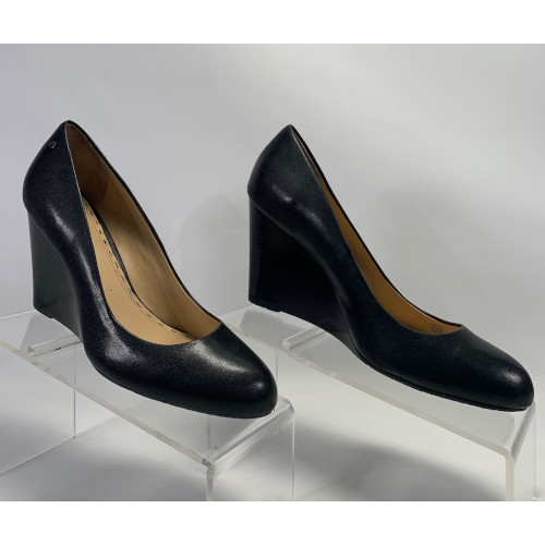 "Coach ""Loise"" Classic Wedge Pump"