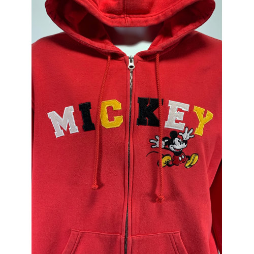 Disneyland Mickey Mouse Embroidered Hooded Sweatshirt
