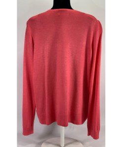 Kenneth Cole New York Essential Women Pink Cardigan Sweater