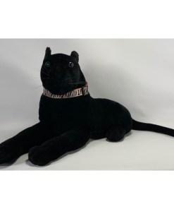 Panther Plush Stuffed Animal Black