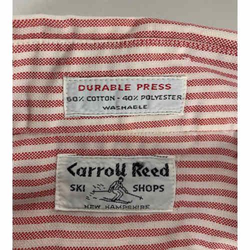 Caroll Reed Ski Shop Women Button Up Shirt New Hampshire