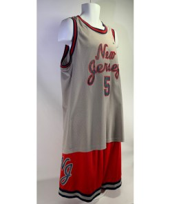 Jason Kidd #5 New Jersey Nets Nike 77 Rewind Set
