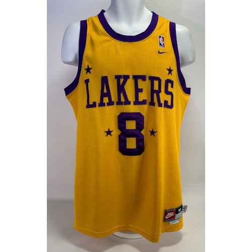 Kobe Bryant Los Angeles Lakers #8 1957 Throwback Nike Jersey