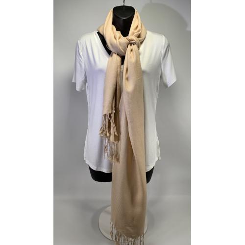 Pashmina and Silk Shawl Wrap