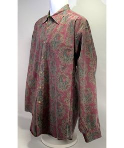 Tommy Hilfiger Paisley Button Up Shirt