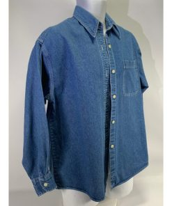 J Crew Men Denim Casual Shirt