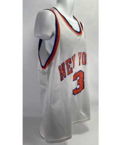 Vintage John Starks New York Knicks #3 NBA Jersey