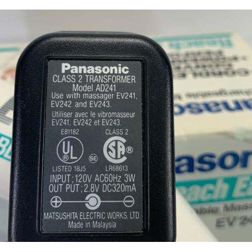 Panasonic Rechargeable Cordless Massager EV241