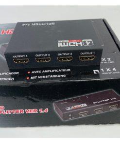 1-in-4 Full HD HDMI Splitter 1X4 4 Port Hub