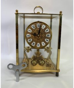 KUNDO Kieninger Obergfell Mantle Anniversary Clock Made in Germany