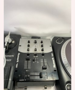 Numark TT1625 Direct Drive Dj Turntable Set Battle Pack