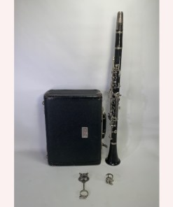 Vintage Bundy Clarinet with Selmer France Mouthpiece HS, Ligature, Cap