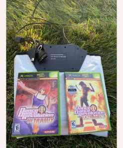 Microsoft Xbox PL-953 Dance Pad & Dance Dance Revolution Ultramix Games 083717300502 083717300250