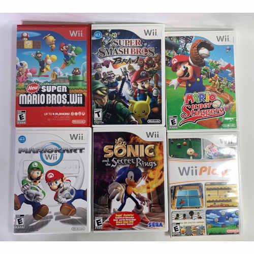 Nintendo Wii Console RVL-001 Super Mario Bundle