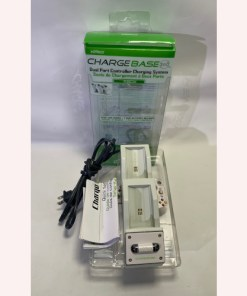 NYKO Charge Base 2 port Dock Xbox 360 -White