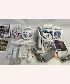 Nintendo Wii Console Bundle -RVL-001