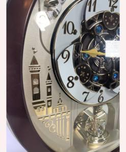 Seiko Melodies In Motion Swarovski Wall Clock QXM491BRH