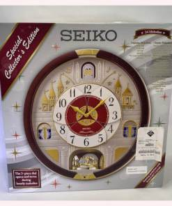 Seiko Special Collector Edition Melodies In Motion Clock Swarovski Crystals 0029665185860Seiko Special Collector Edition Melodies In Motion Clock Swarovski Crystals 0029665185860