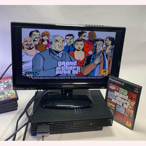 Sony Playstation 2 Grand Theft Auto Bundle