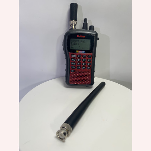 Uniden SC230 Scanner featuring Pre-Programmed NASCAR Busch Frequencies