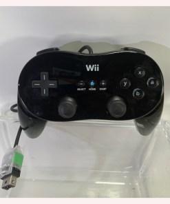 Wii Classic Controller Pro Black Nintendo