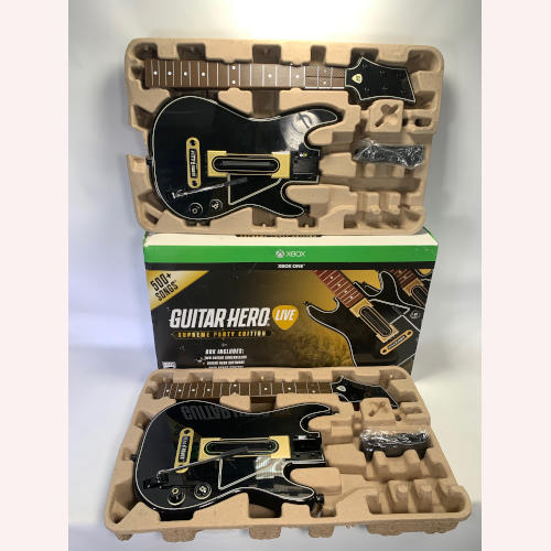 "Xbox One Guitar Hero Supreme Party Edition 2 Guitars ""Only"" 047875880252"