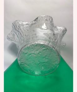 Muurla Finland Ruffle Vase Handmade Art Glass
