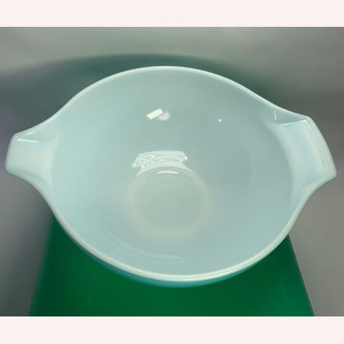 Pyrex Amish Butterprint Cinderella Mixing Bowl 4qt Turquoise