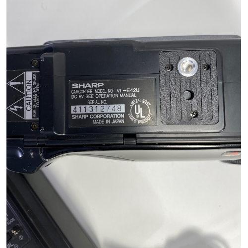 Sharp VL-E42 8mm Video 8 Camera