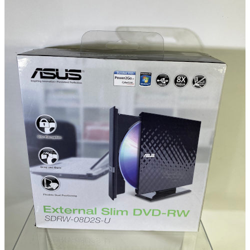 Asus 24x Write 16x Rewrite 24x Read External CD.